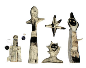Embodiments Mackets(on going collection) by Terence Wilde