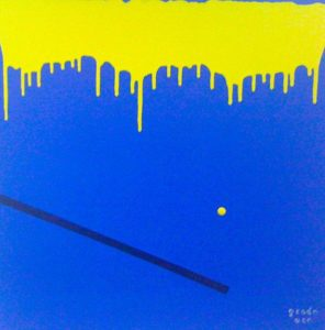 Blue and Yellow by Grade One