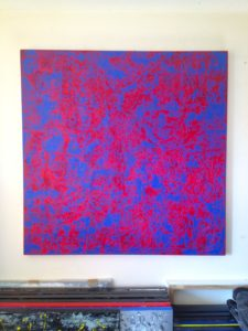 BLUE AND RED HAZE by Grade One