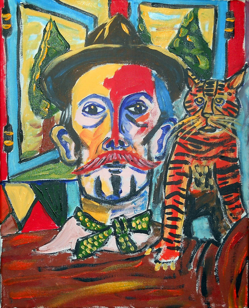25539    1616    Billy Childish With Cat        2687