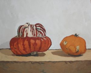Pumpkins by CLARE GRAVENELL