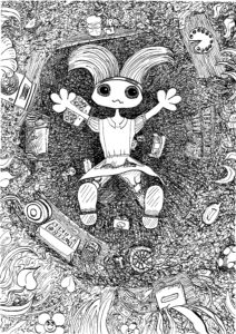 Falling Down the Rabbit Hole by Christopher Hoggins
