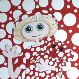 Going Dotty (After Yayoi) by Christopher Hoggins