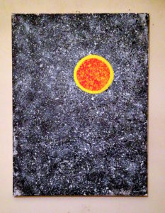 THE SUN IS A STAR by Grade One