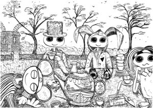 The Mad Hatter's Tea Party by Christopher Hoggins