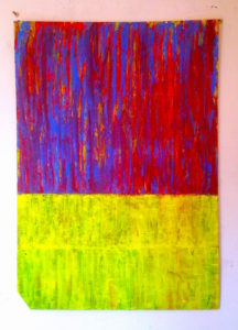 YELL ABSTRACT NO.2 by Grade One