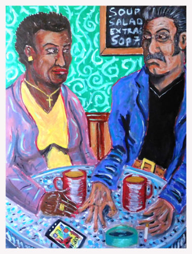 The Tea Drinkers by John Pipere