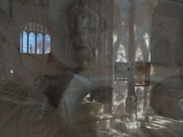 the raising of Lazarus perspex reflection by david puttick