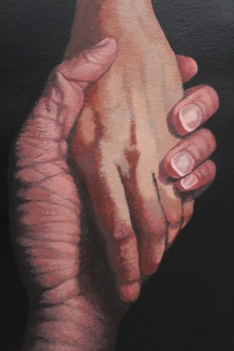 Hands Of Love by CLARE GRAVENELL