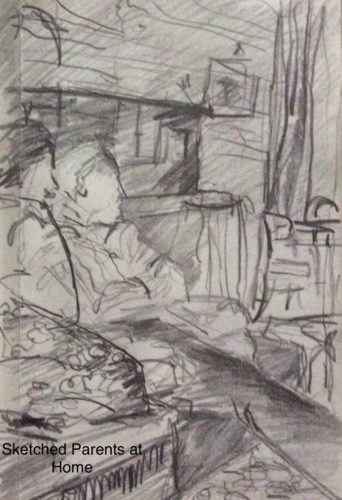 sketches of My Parents by Juliette Goddard