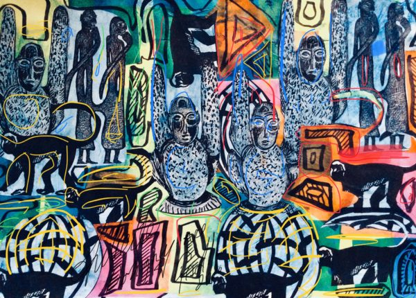 series Tribal effects and the art of Africa. by Juliette Goddard