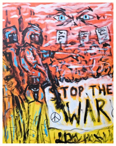 Stop The War by John Pipere