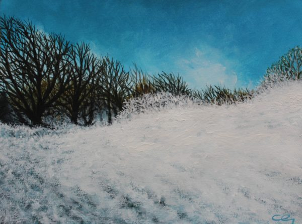 Snowscape.jpg by CLARE GRAVENELL