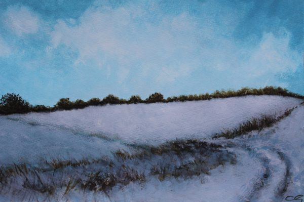 Fields of Snow by CLARE GRAVENELL