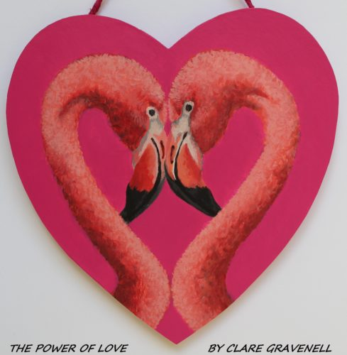 THE POWER OF LOVE by CLARE GRAVENELL