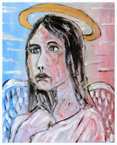 The Tearful Angel by John Pipere