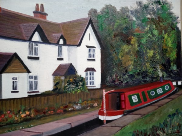 Lock keepers cottage by Richard Laws