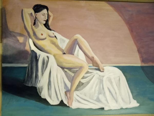 My first full nude by Richard Laws