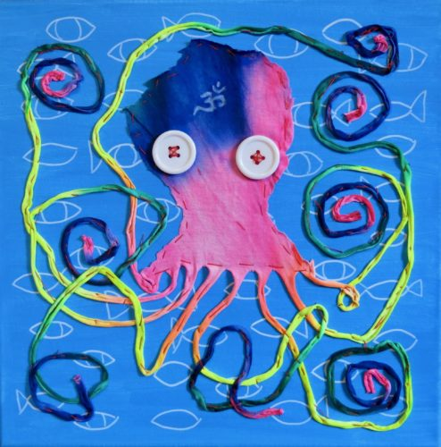 Swami Octopus by Susan Spangenberg