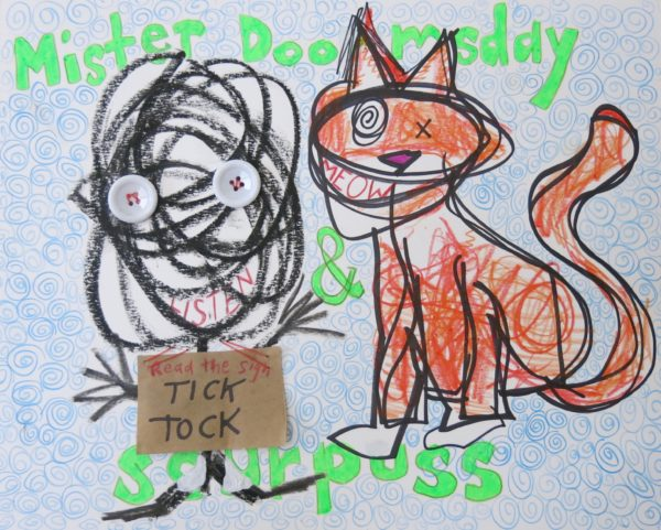 Mister Doomsday and Sourpuss by Susan Spangenberg