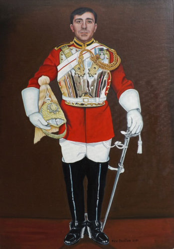 Oscar Household Cavalry The Life Guards by Kevin Preston
