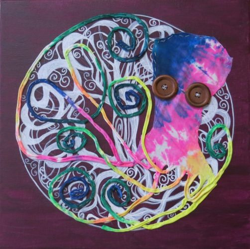 Octopus Tree of Life 1 by Susan Spangenberg
