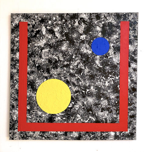 SPOTS-IN-SPACE-NO.4 by Grade One