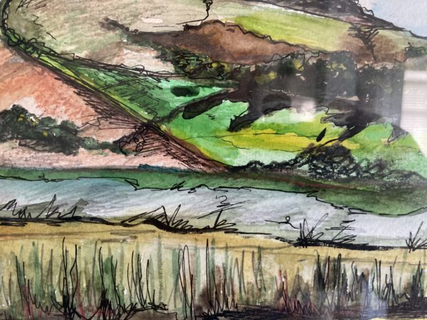 Detail on River Adur by Zoe