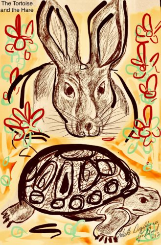 Tortoise and the Hare by Juliette Goddard