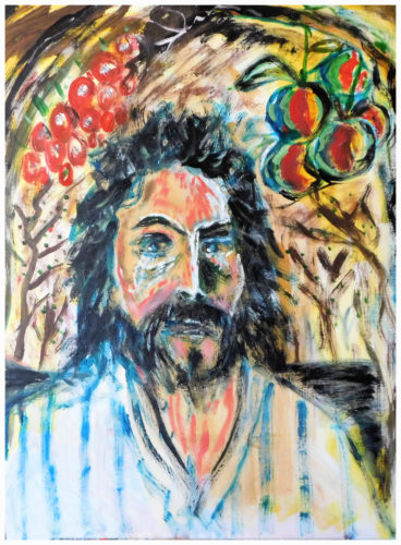 The Nazarene in The Garden of Gethsemane by John Pipere